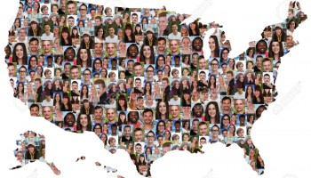 44403498-usa-map-multicultural-group-of-young-people-integration-diversity-isolated-stock-photo